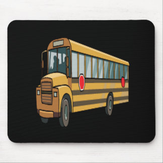 Autobus scolaire tapis de souris