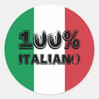 Autocollant 100% d'Italiano