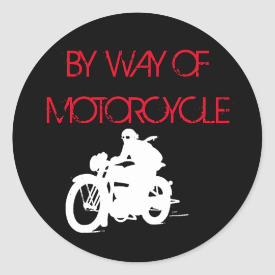 autocollant 1 de bywayofmotorcycle