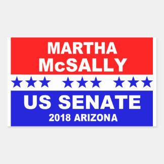 Autocollant 2018 de l'Arizona de sénat de Martha