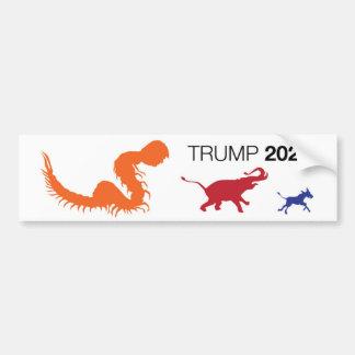 Autocollant 2020 de Trumper de centipède d'atout