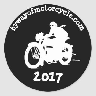 autocollant 2 de bywayofmotorcycle