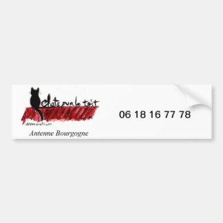 Autocollant antenne Bourgogne Autocollant De Voiture