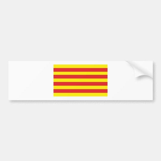 "Autocollant avec Drapeau Catalan ""Serenya"""