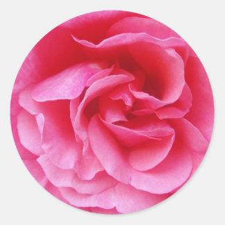 Autocollant avec un motif de rose