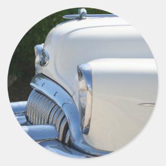Autocollant blanc de Buick