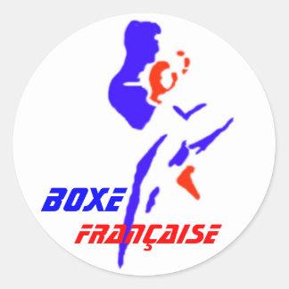 Autocollant Boxe Française