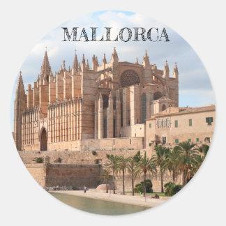 autocollant brillant Cathédrale de Palma de