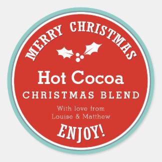 Autocollant chaud de cadeau du cacao