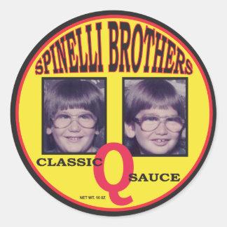 Autocollant classique de sauce à SpinelliBrothers