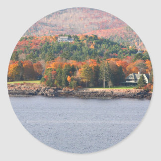 Autocollant côtier du Maine