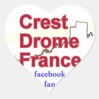 Autocollant CREST DROME FRANCE