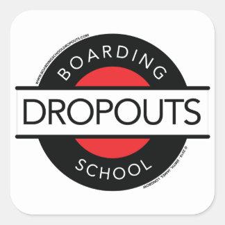 Autocollant d'abandons scolaires d'internat (logo