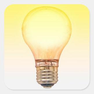 autocollant d'ampoule