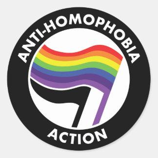 Autocollant d'Antifa d'Anti-Homophobie