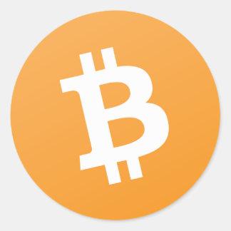 Autocollant d'argent liquide de Bitcoin