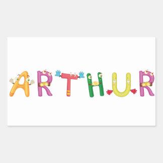 Autocollant d'Arthur