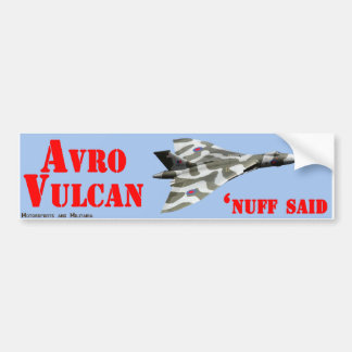 Autocollant d'Avro Vulcan