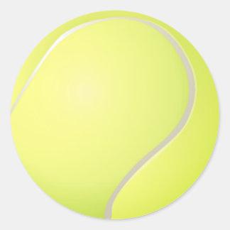 Autocollant de balle de tennis