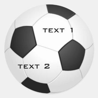 Autocollant de ballon de football