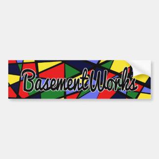 Autocollant de BasementWorks de courage par BW Autocollant Pour Voiture