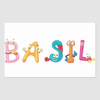 Autocollant de Basil