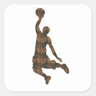 Autocollant de basket-ball de Rost