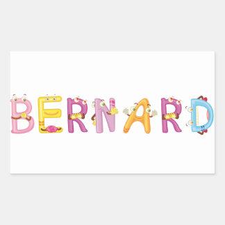Autocollant de Bernard