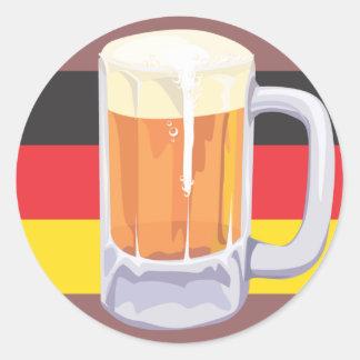 Autocollant de bière d'Oktoberfest