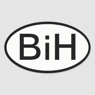 Autocollant de BiH (la Bosnie et la Herzégovine)