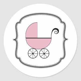 Autocollant de boguet de bébé
