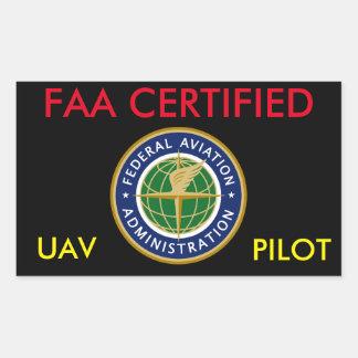 AUTOCOLLANT DE BOURDON CERTIFIÉ PAR FAA