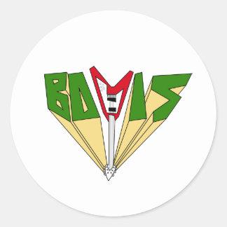 Autocollant de Bovis