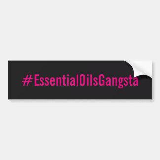 Autocollant de Bumber de #essentialoilsgangsta Autocollant Pour Voiture