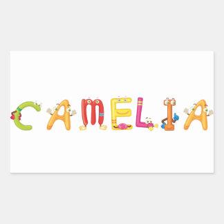 Autocollant de Camelia