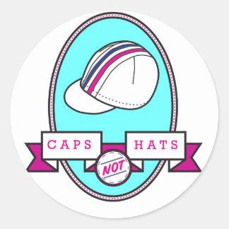 Autocollant de campagne de chapeaux de casquettes