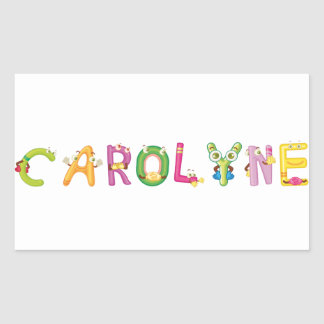 Autocollant de Carolyne