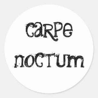 Autocollant de Carpe Noctum