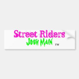 Autocollant de cavaliers de rue adhésifs pour voiture