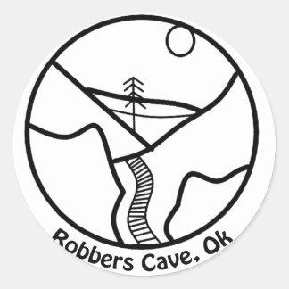 Autocollant de caverne de voleurs