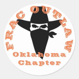 Autocollant de chapitre de l'Oklahoma proscrit par