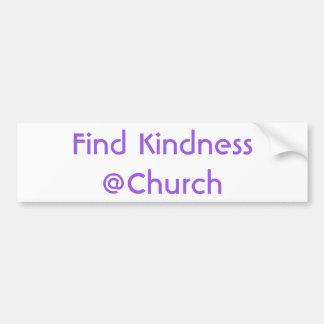 Autocollant de @Church de gentillesse de