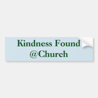 Autocollant de @Church trouvé par gentillesse