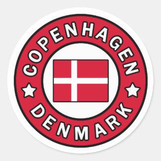 Autocollant de Copenhague Danemark