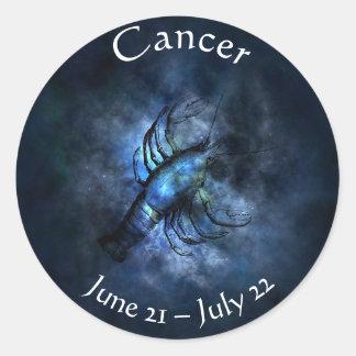 Autocollant de crabe d'astrologie de Kodiac de