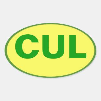 Autocollant de CUL - couleurs de Culebra !