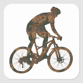 Autocollant de cycliste de Rost