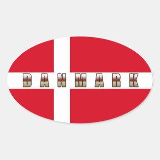 Autocollant de Danmark