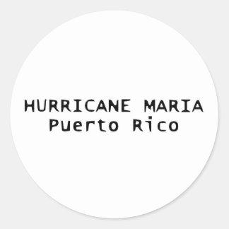 Autocollant de décalque de Maria Porto Rico