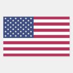 Autocollant de drapeau américain